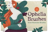 Illustrator Brushes Ophelia Grain Vector Brushes by Craftrick on Creative Market