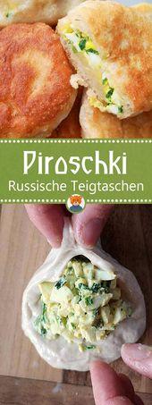 Receta de Piroshki: deliciosas albóndigas rusas de levadura   – familienfuchs   Basteln, Kochen & Selbermachen