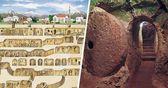 Derrumbó una pared para remodelar su casa y descubrió una antigua ciudad subterránea del s.Xll  – Mias