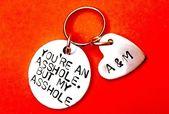 Valentines gift for husband – my Asshole – Keychain – #valentinstag