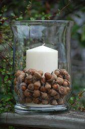 Basteln mit Eicheln – 70 einfache Ideen mit Anleitungen zum Nachmachen – Herbstdeko