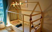 DIY: IKEA Kura se transforme en lit de maison> vaterjahre.de   – Luisas KinderZimmer