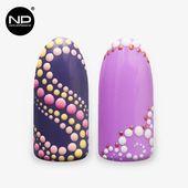 Akademische Paint Point Nail Design-Ideen von …   – Decorados uñas