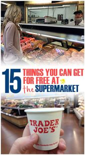 15 Awesome Things You Can Get for Free at the Supermarket