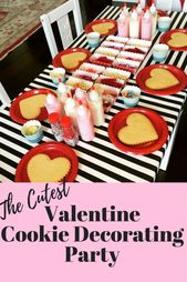 Hosting a Cookie Decorating Party - Treehouse Threads