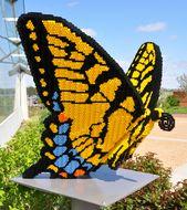 Erstaunliche Gartenskulpturen aus LEGO-Steinen in Reiman Gardens   – Garden and Earth Art
