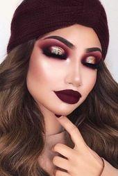 Homecoming Make-up: 50 besten Augen Make-up-Ideen für die Heimkehr   – Make up augen