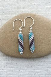 How To Make Peyote Spiral Tube Bead Earrings With These Instructions – # Instructions …