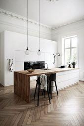 45+ Creative Scandinavian Kitchen Design Ideas To Look Beautiful