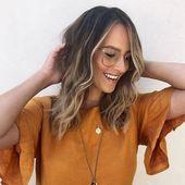 50 lebendige Ideen für die Haarfarbe im Herbst, um Ihre neue Frisur im Jahr 2019 zu betonen #winterhai …