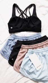 pinterest @kyliieee | best cute and chic workout clothes for women | pastel workout clothes teens