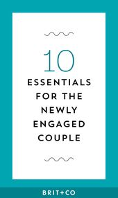 10 Fun Essentials for the Newly Engaged Couple   – Weddings
