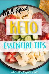 Keto-Diät für Anfänger Tipps und Tricks für den Erfolg auf dem ketogenen Die …   – Keto Diet Recipes