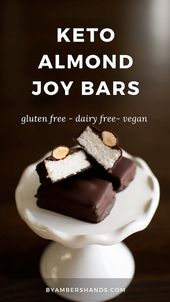Keto Almond Joy Bars (Low Carb and Dairy Free!)
