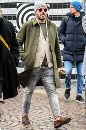 Vorstellung der empfohlenen Artikel für Herren und die Aufmerksamkeit der Herren auf den rostfreien Farbmantel! – Perfect Men's Clothes