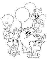 Baby Looney Tunes Disney Malvorlagen Ausmalbilder Disney Wandbilder Kinderzimmer