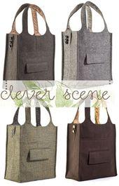 TASCHE ZU MACHEN – Aus alter Anzugjacke! Was für eine nette Idee! ;) und du kannst repurpos