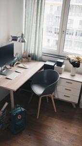 Update: Ein neuer Schreibtisch & Tipps für mehr Ordnung. (Anzeige)   – Home Office