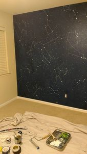 Dekoration Wohnung – Amazing Constellation Wall, DIY mit Richtungen