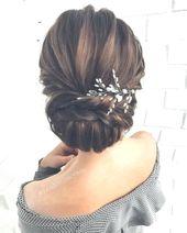 Beautiful wedding hairstyles for the elegant bride   – Hochzeit Haar Ideen