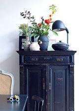 Indigo // Side Table // Table Lamp // Home Decor // sfgirlbybay
