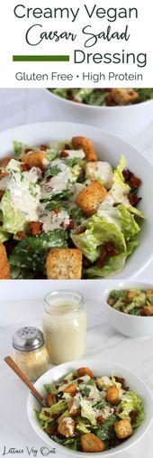 Creamy Vegan Caesar Salad Dressing – food