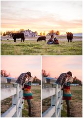 Fayetteville Engagement Photographer – University of Arkansas – Old Main – Fall …   – Farm Session