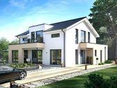 Modernes Zweifamilienhaus mit separater Wohnung: Bau eines Hauses mit separater Wohnung …   – Architektur Haus