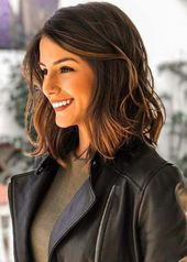 23+ cute hairstyles for shoulder-length hair for women – samantha fashion life – hairstyles for curly hair – abbey blog
