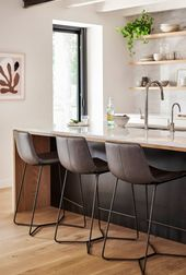 Slope Counter Stools at Austin House