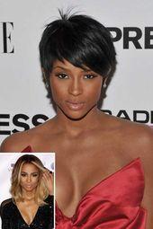 Kurze Frisuren für schwarze Frauen 2020