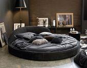 Modern Round Bed: Jazz Night