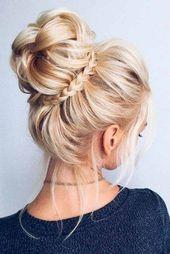 10 Trendy updos for medium-length hair – New Site