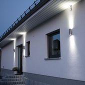 SKAPETZE – Steel / Outdoor Wall Lamp Up & Down Interior Lamps Wall …   – Außenbeleuchtung