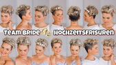 Short hair style wedding Short hair styled festively | Wedding hairstyles with …  #festively #short #style #styled #wedding