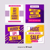 Download Modern Sales Banners For Social Media for free