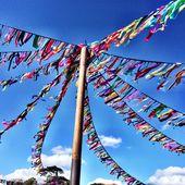 Festival Ribbon Bunting 5m