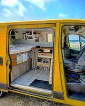 The Perfect Way Campervan Interior Design Ideas – Yellowraises