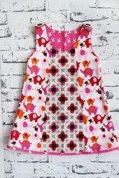 Coudre la robe avec le motif Alles-für-Selbermacher   – Nähen