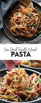 Pasta kann ein gesundes Abendessen mit Geschmack und Köstlichkeit sein. Auswechseln …   – Dinner