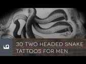 Möchten Sie die besten Zwei-Köpfigen Schlangen-Tattoo-Ideen der Welt sehen? Klicken Sie hier, um zu …