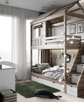 25 +> How cute is this bunk ?! This top bunk is a dream