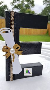 Decorazioni per la festa laurea di graduazione Partito idee festa laurea lettere laurea Grad Graduation graduazione decorate lettere