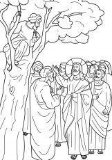 Best Photos Of Zacchaeus Print Out Free Printable Zacchaeus Love Coloring Pages Zacchaeus Bible Coloring Pages