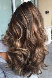 100+ Best Ideas About Brown Hair Caramel Highlights – #best #Brown #Haa …