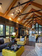 Dream House 2014 Living Room – #hgtv #Traumhaus #Wohn …