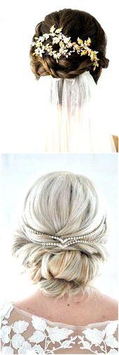 Hochzeit Schnheit Haar #hochzeitsschnheit Die Besten Ideen ber Lange Hochzeit Frisuren #frisuren #frisuren2018 #frisureneinfache