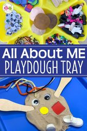 How to Make a Fun Playdough tray for your All About Me Theme – Beginning of the School Year