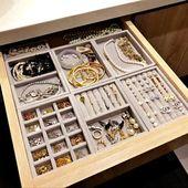 New Ideas – # Bracelet Bracelet New Drawer DIY Jewelry Storage Ring Bracelet …