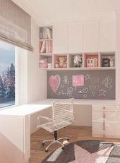 Süße Träume – Eine Designidee für ein Mädchenzimmer in Pink   – Kinderzimmer